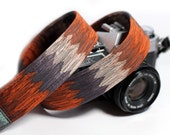 Tribal Camera Strap - African, Aztec, Bohemian Camera Strap - Mojave