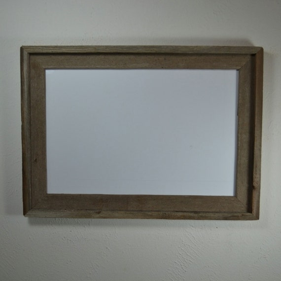12x18 Rustic Poster Frame From Reclaimed Wood By Barnwood4u