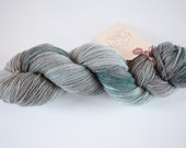 Hand dyed sock yarn - Fire and Ice 301801