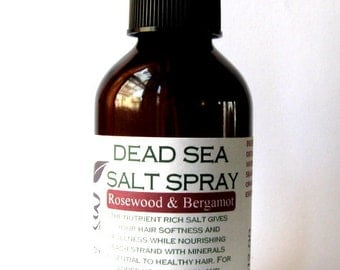 Dead Sea Salt Spray For Hair All Natural