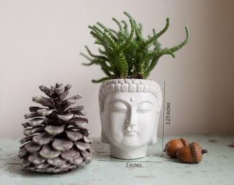 Small Buddha Head Planter - Buddha Head Planter #1
