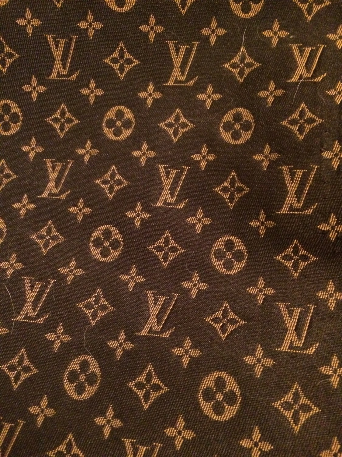 louis vuitton monogram upholstery fabric new by londonsfares. Black Bedroom Furniture Sets. Home Design Ideas