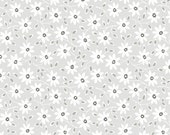 Fog City Kitty---Daisy in Pewter---1 yard---Pam Kitty Morning for Lakehouse Dry Goods