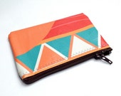 "4.75"" x 3"" Upcycled Vinyl Banner Coin Purse or Business Card Holder - Limited Edition"