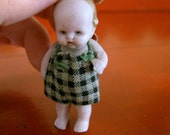 Tiny Bisque Boy German Doll Jointed