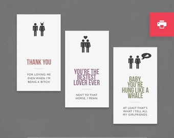 Naughty First Anniversary Gift Paper Sticky by