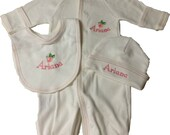 Personalized convertible gown/romper set