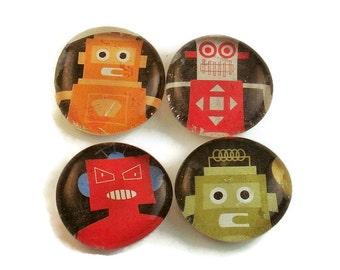 Funky Magnets  Robot Buddies (M17)