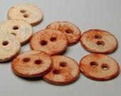 Pumpkin Spice Lace - Ceramic Buttons