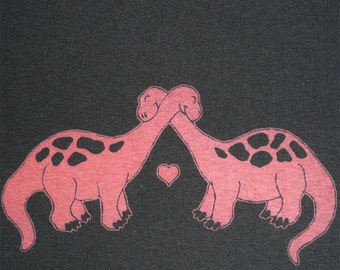 Dino Lovers - Unisex T Shirt - American Apparel
