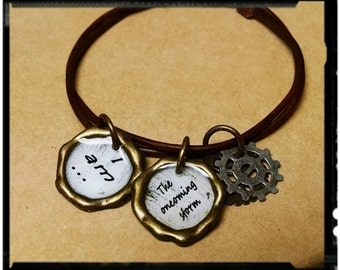 I Am....The Oncoming Storm Dr Who Charm Bracelet