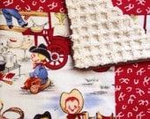 Lil Cowpoke  Baby Blanket