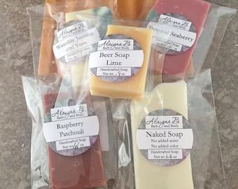 Handcrafted Soap Sample Set