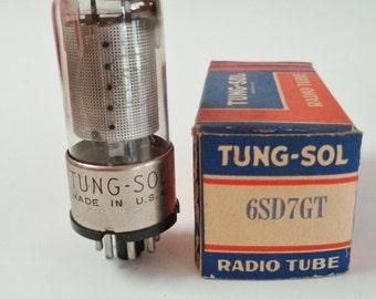 Tung Sol Radio Tube NOS 6SD7GT