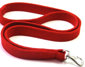 Key cord for iPhone in 100% wool felt, handmade in the Netherlands