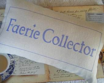 Faerie Collector - Pillow -
