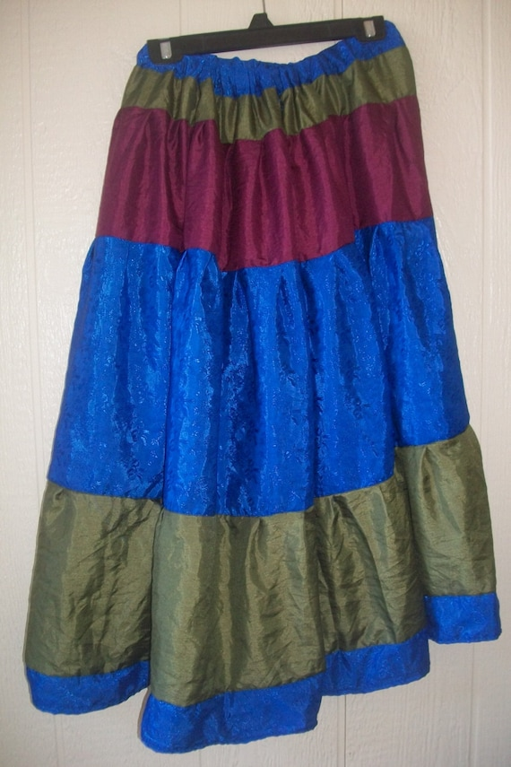 costume skirt multicolor