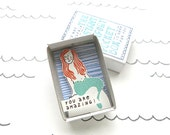 Little Mermaid - The Instant Comfort Pocket Box - you are amazing! - cheer up and consolation box