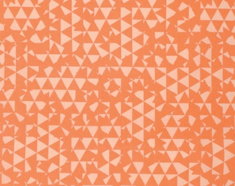 Fabric Listing - Erin McMorris Distrikt - Tilt in Poppy - Erin McMorris Fabric by the Yard - Quilter's Cotton