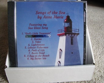 Original Music CD - Sea Glass Song - Songs of the Sea - Folk Songs