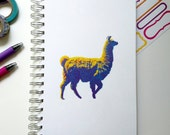 Llama Journal (Grid Pages)
