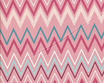 SALE - Free Spirit Fabrics Jay McCarroll Garden Friends Zig Zag Zoo - End of Bolt - Last 31 Inches
