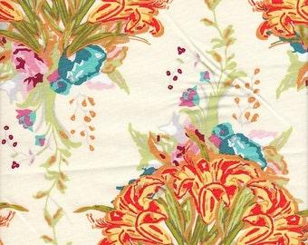 Art Gallery Fabrics LilyBelle Lily Bouquet in Light - Half Yard