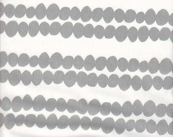 Windham Fabrics Bella Bubble Stripe in Gray - End of Bolt - 1 Yard 33 Inches Left