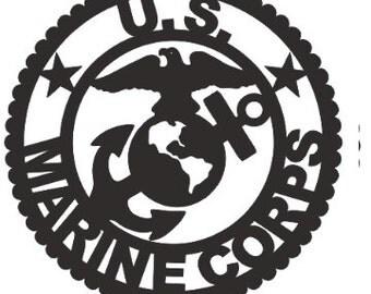 Marine Corps Emblem Applique