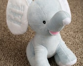 Baby Elephant with personalized ears