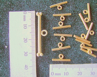 TOGGLE, BARS, NO Rings, Destash, 14k Gold Filled, Vermeil, Clasps, Findings