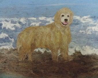 Needlefelted Pet Portrait