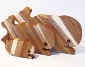 Whale Cutting Board Set (3)