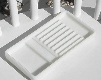Dental Tray Vintage Milk Glass American Cabinet Co Vanity Drawer Cosmetics Craft Organizer Beading Glue Gun Tray Pen Holder