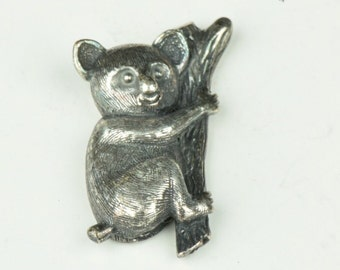 Koala Bear on a Tree Limb Charm, 30mm, sold by pack of 2 15803