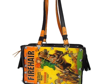 Firehair No 7 1951 Comic Book Handbag