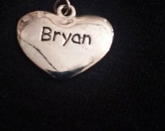 Heart Pendant Bryan