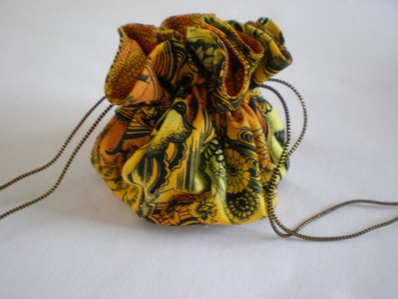 Drawstring travel jewelry pouch pattern for Drawstring jewelry bag pattern