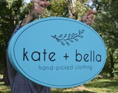 Hanging Sign - Customized - Outdoor Weatherproof Professional Sign Banner for Business, Store, Restaurant, Cafe, Shop