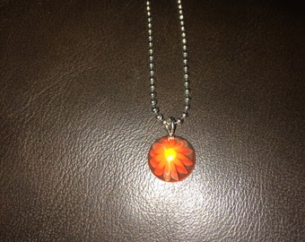 sunburst pendant necklace