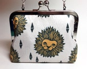 Kisslock Clutch Purse - Medium - Lions