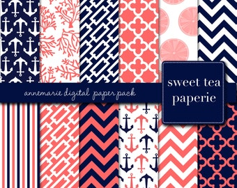 AnneMarie Digital Paper Pack (Instant Download)