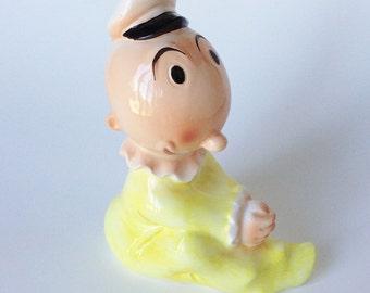 Vintage Sweet Pea Popeye Character Ceramic Bank