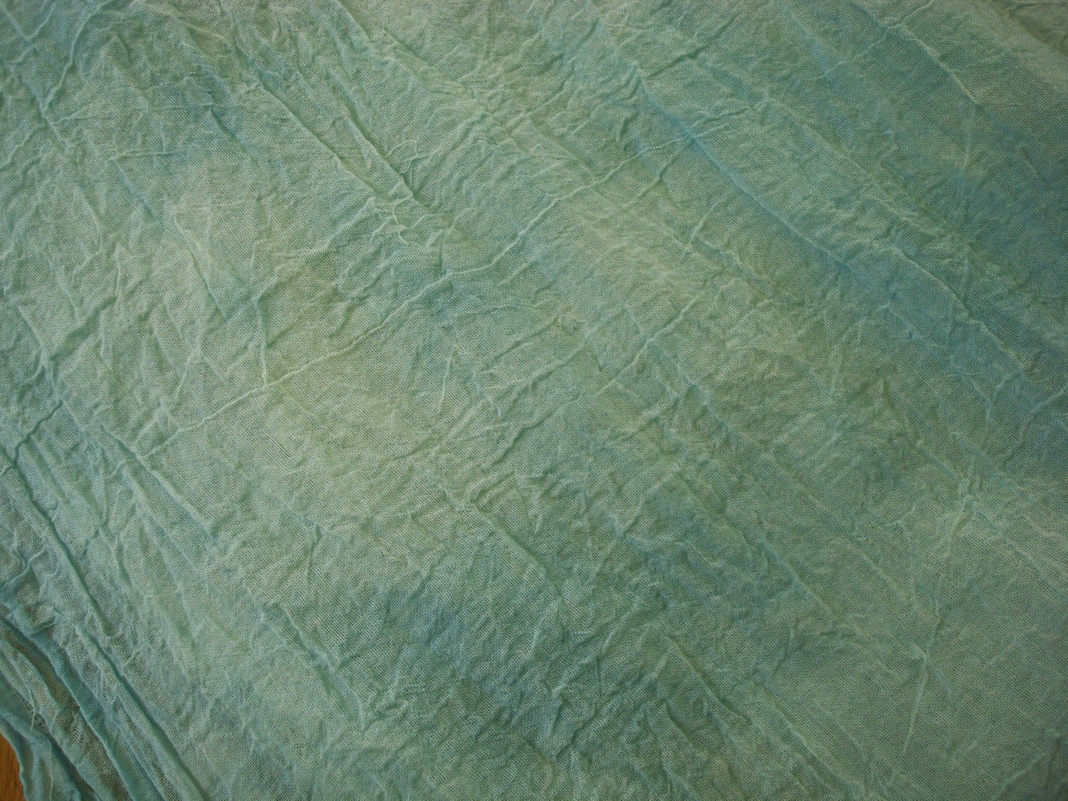 Home Decor Fabrics By The Yard: Blue Crinkle Cotton Fabric By The Yard Blue Home Decor
