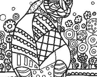 cross stitch pattern color in cross stitch cat cross stitch heather