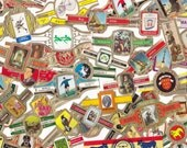 24 x  Vintage Cigar Bands Mixed Design for Altered Arts Mixed Media Collage