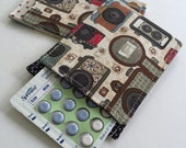 Birth Control Pill Sleeve, Pill Travel Sleeve Tiny Cameras, Pill Sleeve, Cute and Discreet for your Bag