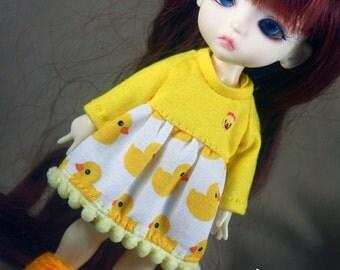 B001 - Lati yellow / Pukifee /MiniMuichan Dress