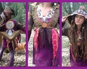 CLEARANCE Crystal Visions Gypsy Wizard Waist Coat