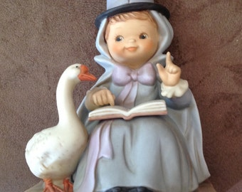 Once Upon a Fairy Tale Series LTD Edition Mother Goose Figurine 1992 Original Box